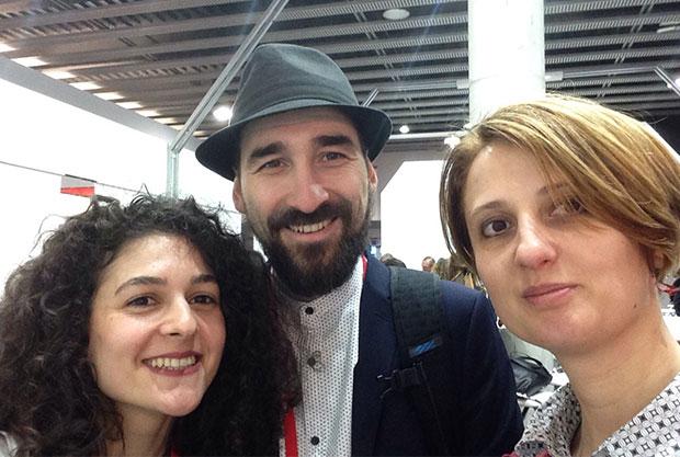 Alex, Oana and Roxi at MWC